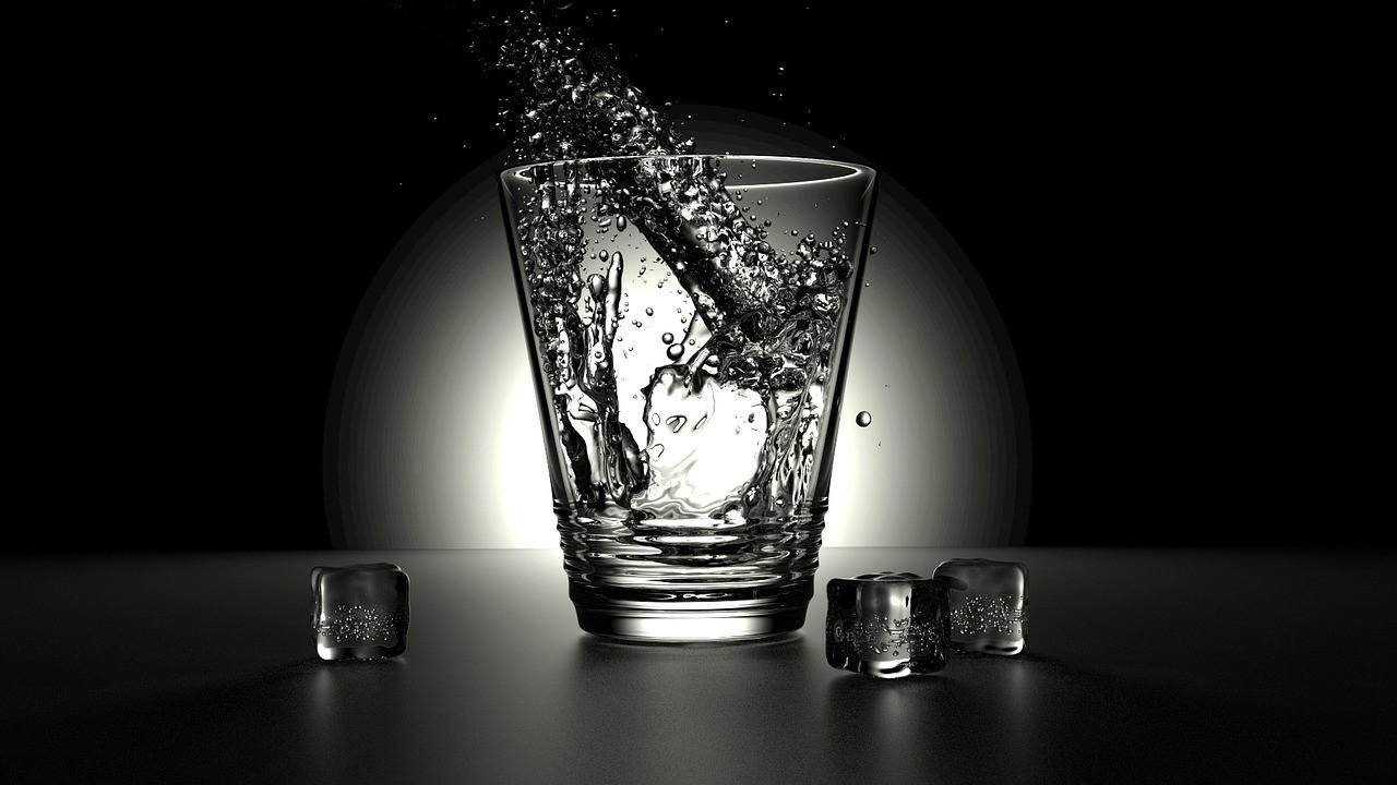 eau enrichie au charbon